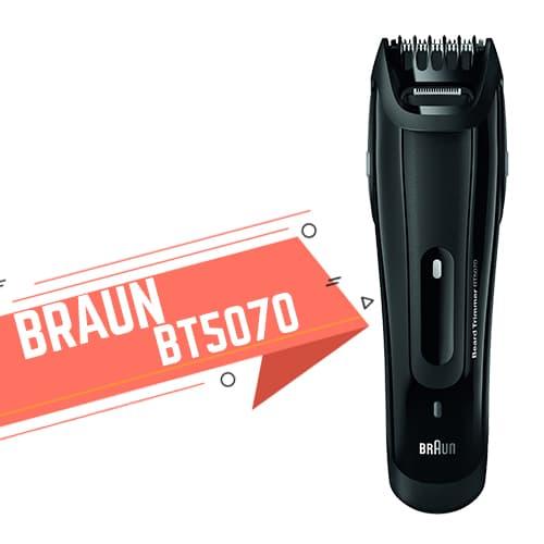 Regolabarba Braun BT5070