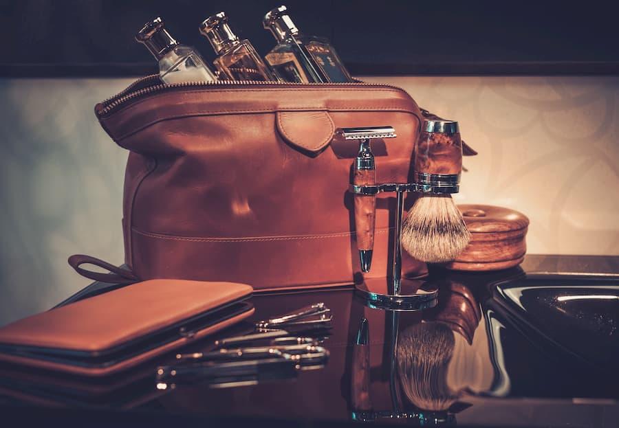 Accessori cura della barba olio barba