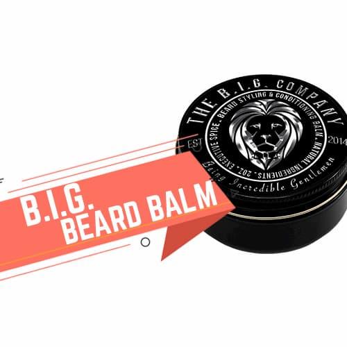Balsamo da barba B.I.G. Beard Balm