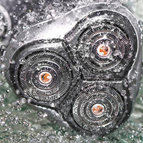 Immagine lavaggio rasoio elettrico