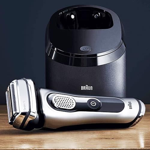 Immagine particolare rasoio elettrico Braun Series 9 9292cc