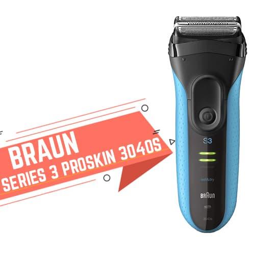 Rasoio elettrico Braun Series 3 ProSkin 3040S