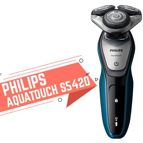 Rasoio elettrico Philips Aquatouch S5420