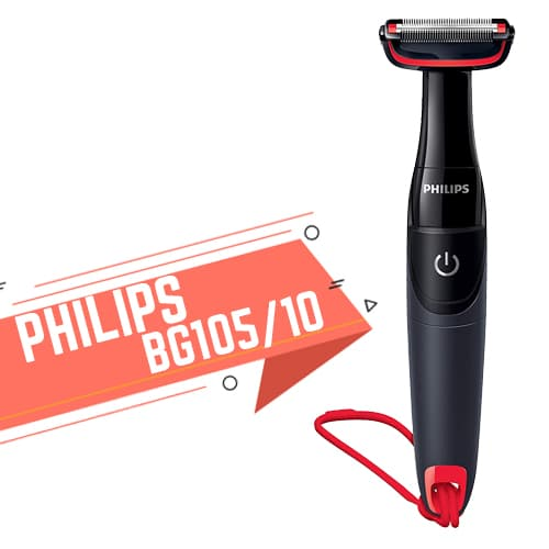 Rasoio per il corpo da uomo Philips BG105 10