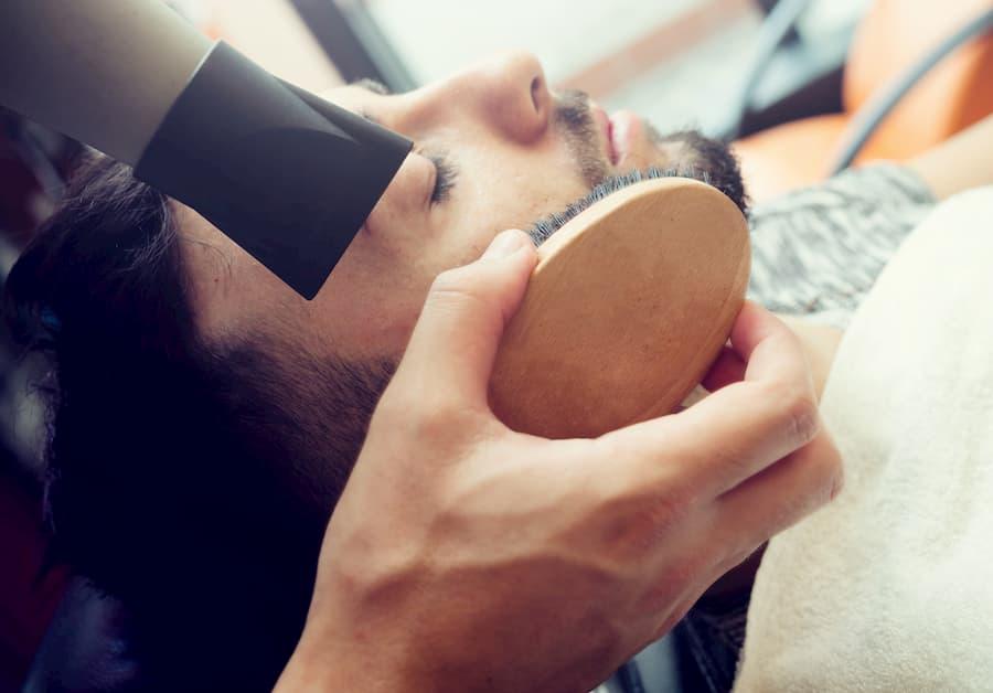 Spazzola barba cura della barba