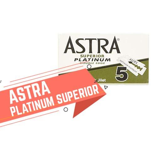 Lamette da barba Astra Platinum Superior