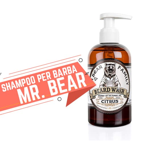 Shampoo per Barba Mr Bear